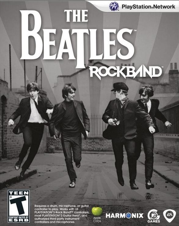 beatles rock band box