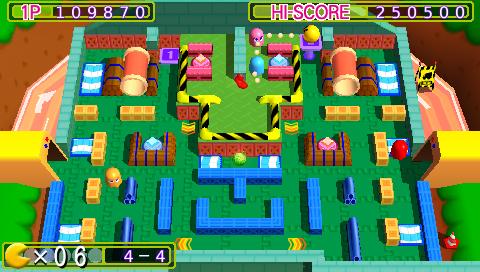 скачать игру Pacman на Psp - фото 6