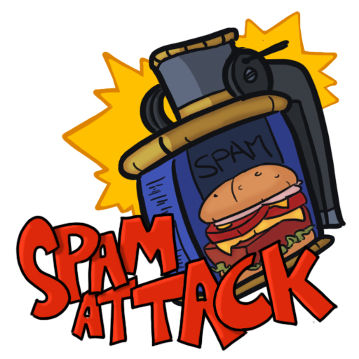 SPAM ATTACK LOGO