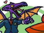 Metroid-High-School-Samus-Ridley