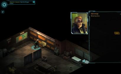 Jake actually isn't a canon altering abomination in Shadowrun Returns, what a relief!