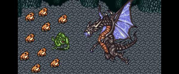 Sprite Flicker: The Plight of Dragons