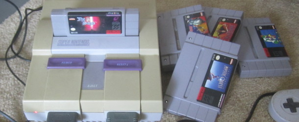 Pile-of-SNES-Games