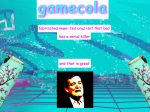 gamecola-hot-new-vaporwave-redesign