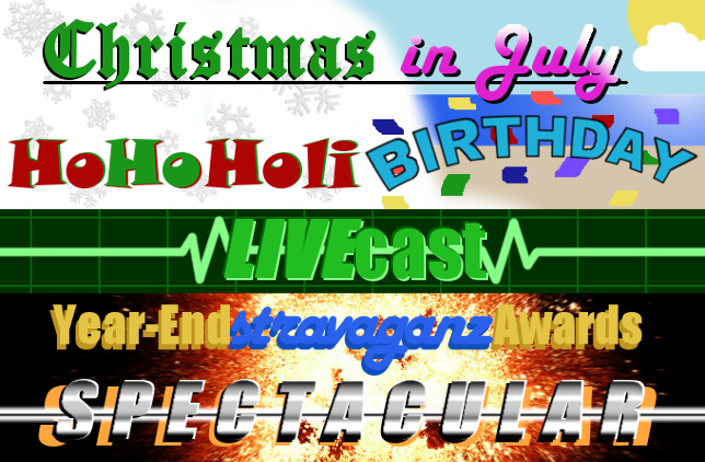 Christmas-In-July-HoHoHoliBIRTHDAY-LIVEcast-Year-EndstravaganzAwards-Spectacular