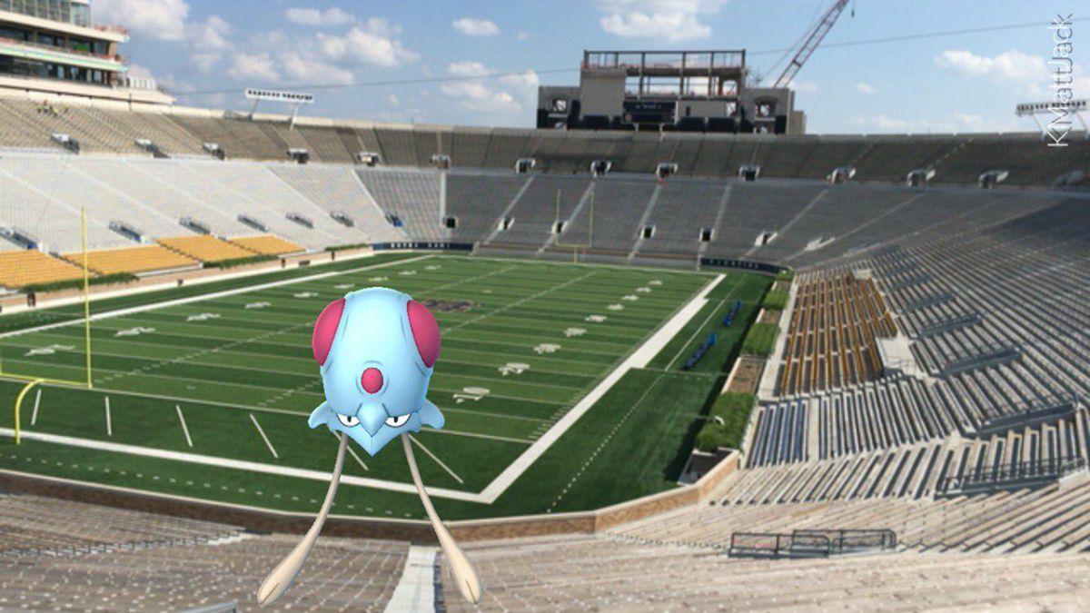 Tentacool in Stadium
