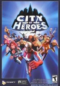 city of heroes box