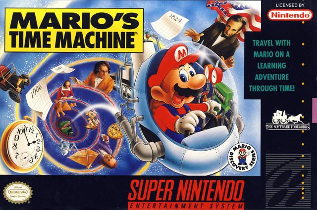 mario's time machine box