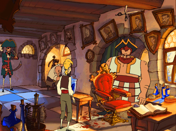 Screenshot of Curse of Monkey Island