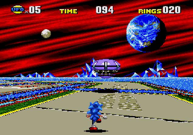 Sonic CD Screenshot 1