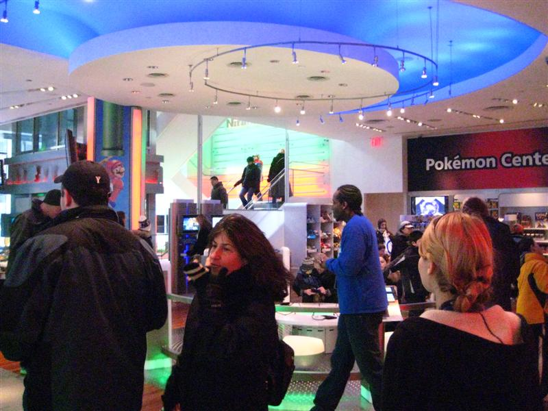 Nintendo World - inside