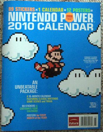 Nintendo Power 2010 Calendar