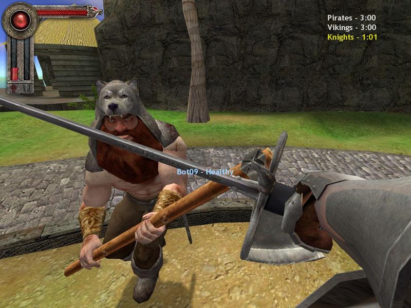 Pirates vs Vikings vs Knights