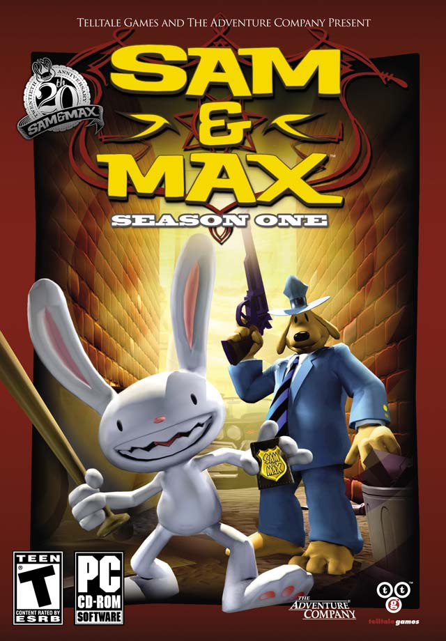 sam and max season one box