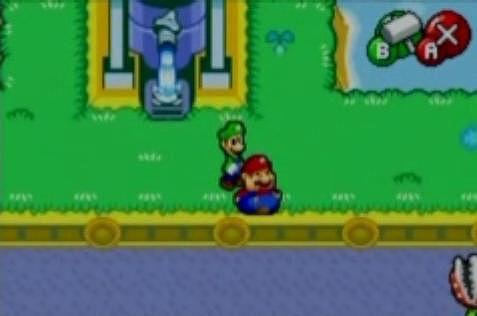 Mario had too much pasta last night.