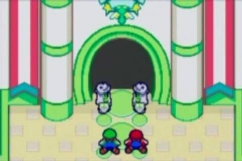 Mario and Luigi worship Allah.