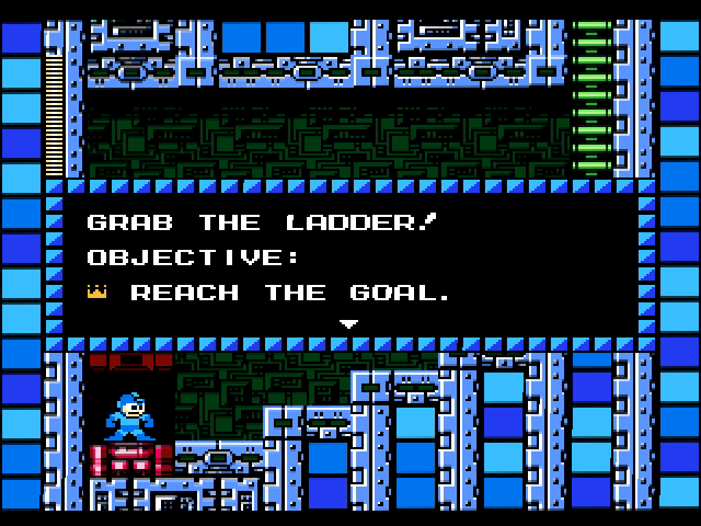How did we ever beat Mega Man 1-9 without training like this!?
