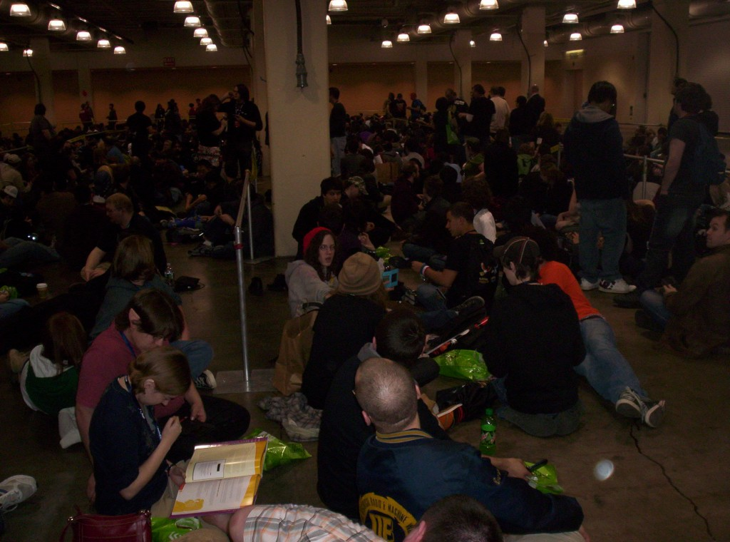"Today's report on PAX East 2010 is brought to you by the letter ""queue."""