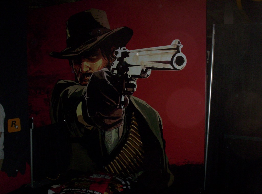 No matter where I go, it always seems like the revolver is following me...