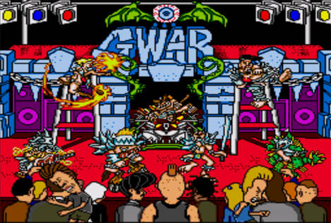 GWAR. Not Pictured: the part of the stage show where they defile the corpse of the Lindbergh baby. Seriously.