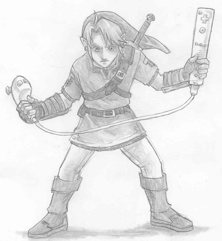 Zelda Wii by AIBryce