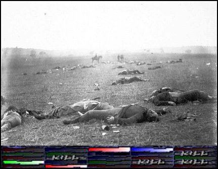 Despite inflicting heavy casualties on Union forces at Gettysburg, the Confederates failed to secure a complete row on the kill matrix and were thus forced to retreat.