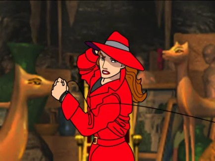 Where In The World Is Carmen Sandiego Treasures Of Knowledge Pc Gamecola