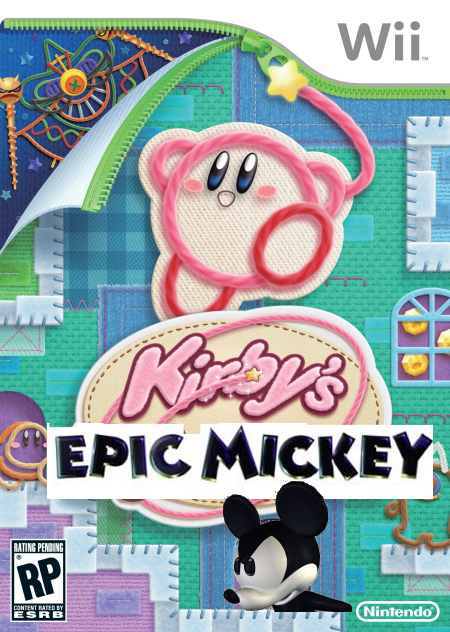 Kirby's Epic Mickey