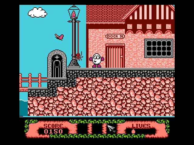 NSFW] The Fantastic Adventures of Dizzy (NES) – GameCola