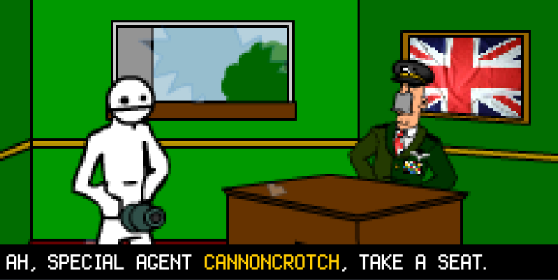 CannonCrotch Cutscene