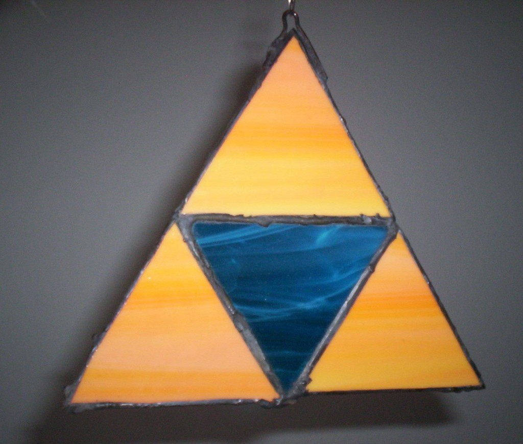 Stained Glass Triforce