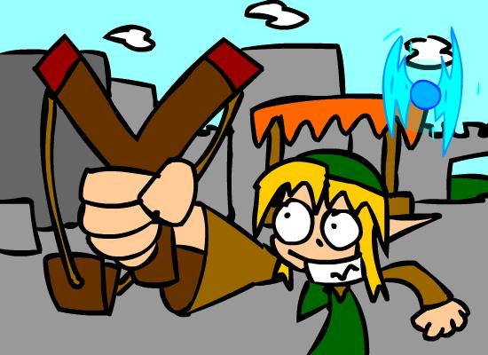 Link and Navi