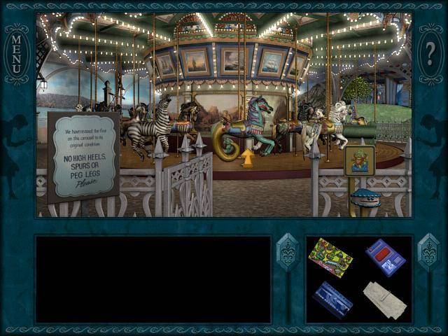 Nancy Drew Haunted Carousel