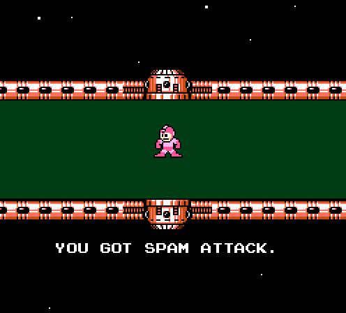 You Got Spam Attack