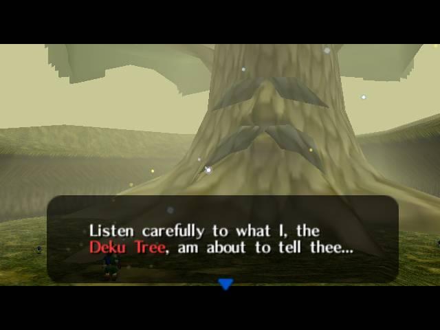 Zelda Ocarina of Time 1