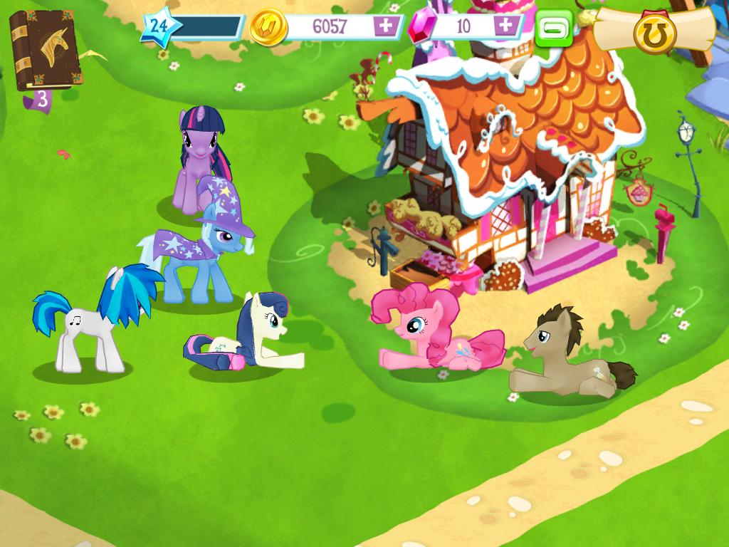 my little pony friendship is magic ipad gamecola