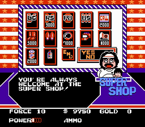 Clash at Demonhead Shop Screen