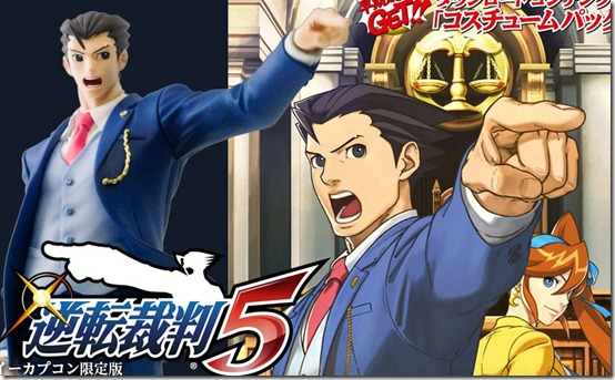 Ace Attorney 5 Limited Edition Comes With Phoenix Wright Figure And More
