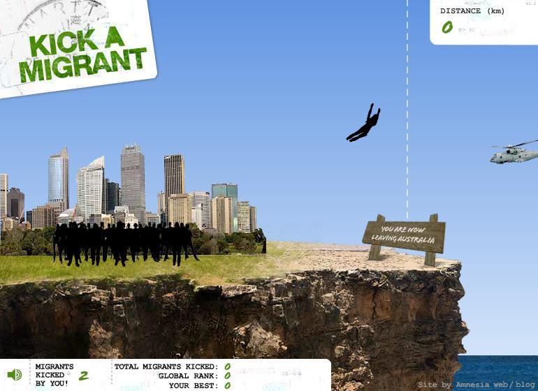 Kick a Migrant