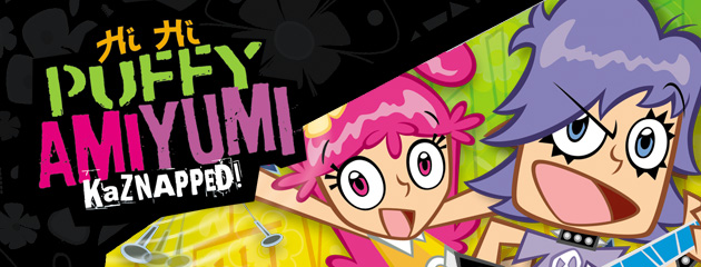 Hi Hi Puffy AmiYumi: Kaznapped! (GBA)