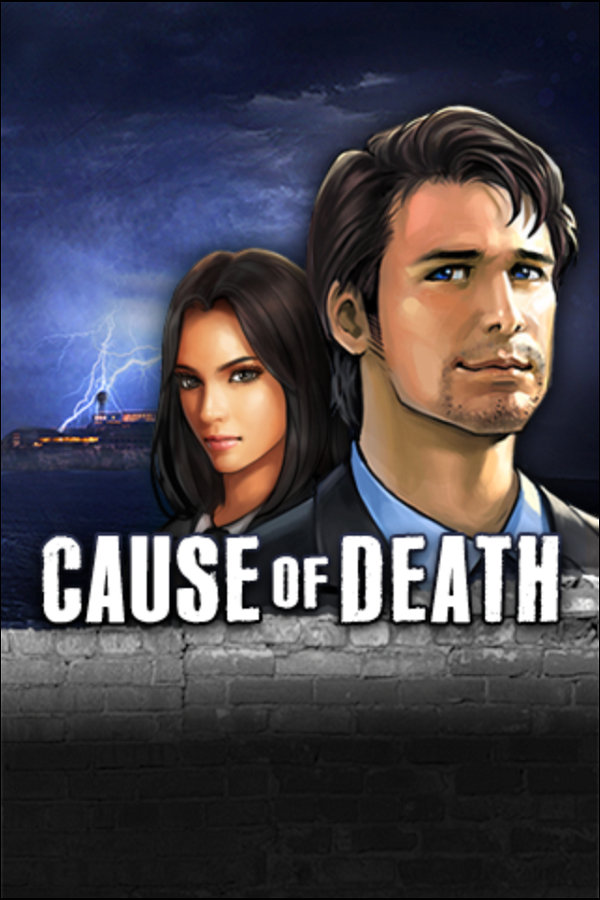 Cause of Death Title Screen