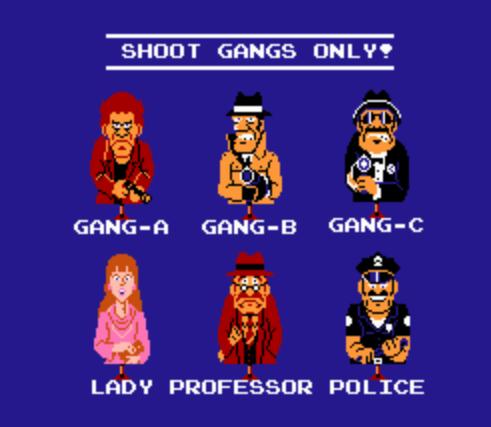 hogans alley targets