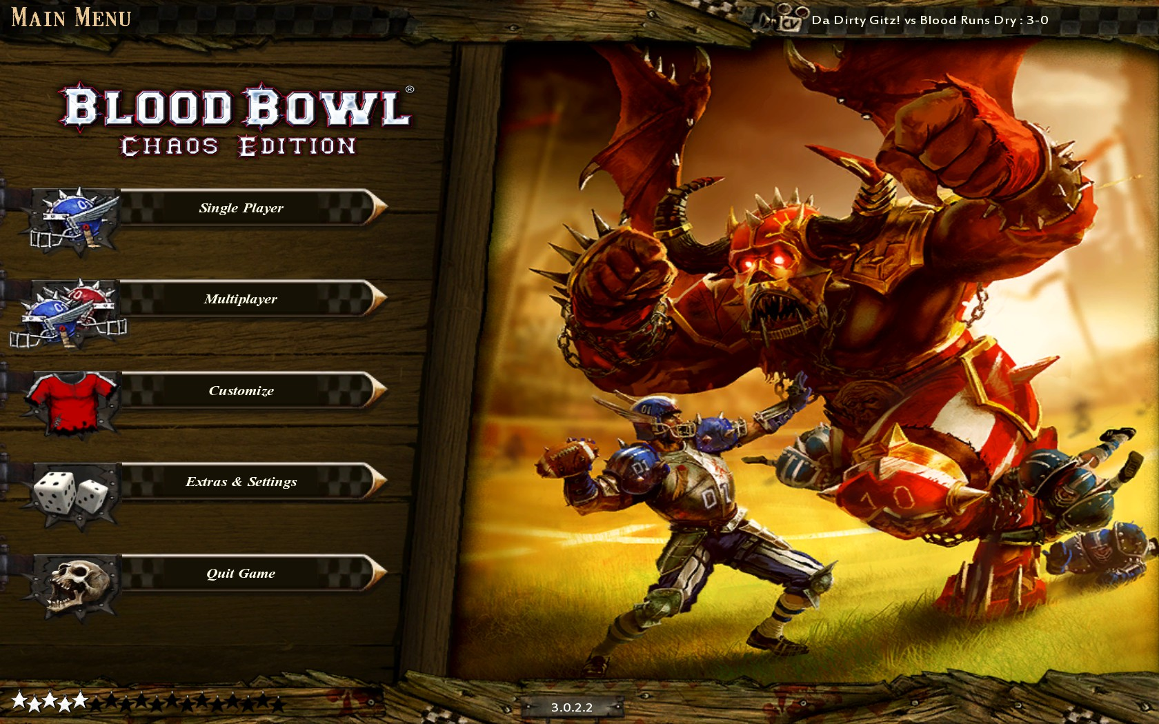Turn time in matchmaking Blood Bowl Chaos Edition General Discussions