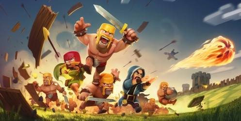 Clash of Clans - Title