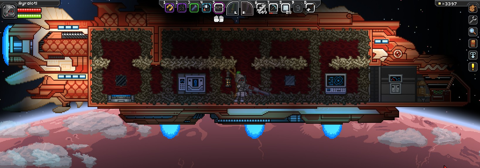 starbound how to find your friends