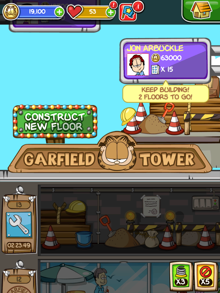 Inside The Guide Garfield Tycoon Gamecola