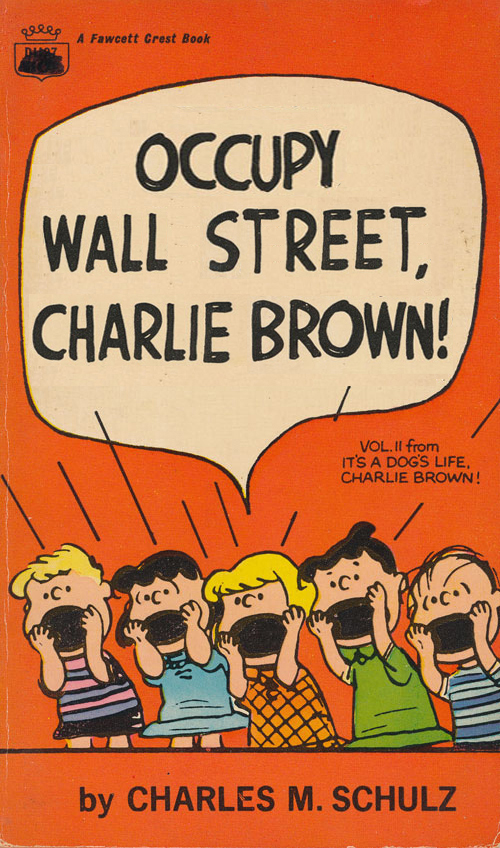 Occupy Wall Street, Charlie Brown