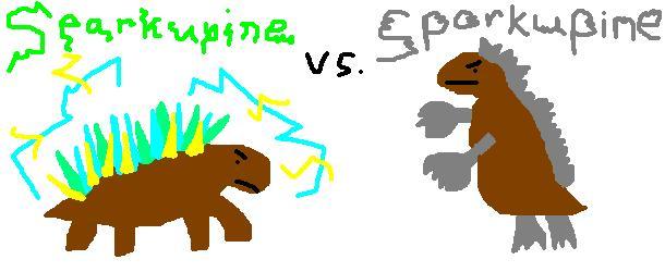 Sparkupine-vs-Sporkupine