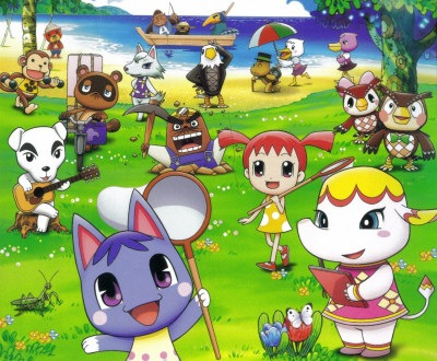 Animal crossing the movie gamecola for Wallpaper happy home designer