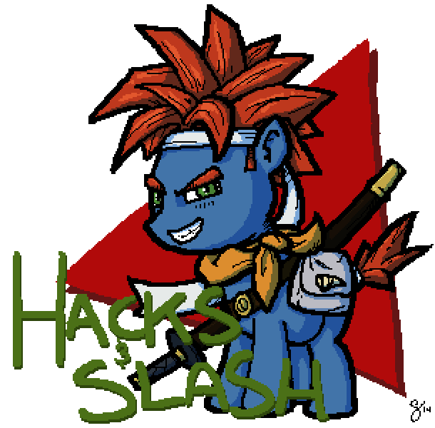 Hacks and Slash 6 Logo